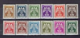 217 P1 - Deutsche Reich - Bohème&Moravie - Bohmen Und Mahren - Cechy A Morava - Service 13-24 MNH - Ungebraucht