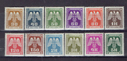 217 P1 - Deutsche Reich - Bohème&Moravie - Bohmen Und Mahren - Cechy A Morava - Service 13-24 MNH - Neufs