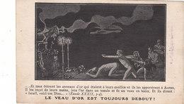 """Publication Anarchiste. """"Le Veau D'or Est Toujours Debout"""". - Personnages"""