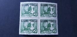Kouang Tcheou Yvert 103** Bloc De 4 - Kouang-Tcheou (1906-1945)