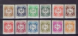 217 P1 - Bohème&Moravie - Bohmen Und Mahren - Cechy A Morava - Service 1-2 MH - Neufs