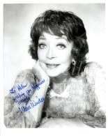 LARGE Photo / Original / Signed / Marie Windsor / Actress / Actrice Américaine / Photo Size: 23 X 25.60 Cm. - Dédicacées