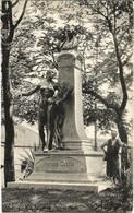 MONS - Monument Antoine Clesse Inauguré Le 21 Juin 1908 - Oblitération De 1910 - Mons