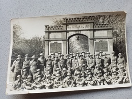 Anvers Photo Carte Groupe Militaire Militaria - Ohne Zuordnung