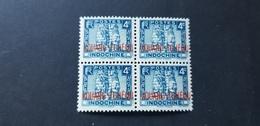 Kouang Tcheou Yvert 105** Bloc De 4 - Kouang-Tcheou (1906-1945)
