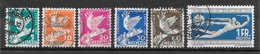 Suisse N°254 à 259 1932 O - Suiza
