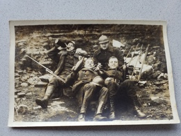 Photo Carte Groupe  Soldats Militaire Militaria - Ohne Zuordnung