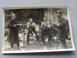 Photo Carte Groupe  Soldats Militaire Militaria Beverloo ?. - Ohne Zuordnung