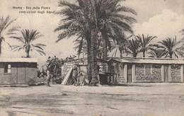 Africa - Libia Occ. - Tripolitania - Homs - Età Della Pietra, Costruzione Degli Alpini - - Libyen