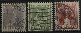 Svizzera Pro Juventute S.CPL.3V.Costumi/ Trachten(28074 - Pro Juventute