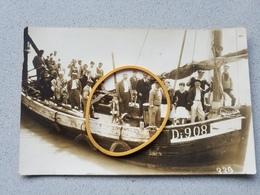 Photo Carte Originale Bateau De Peche A Identifier - Ohne Zuordnung