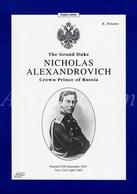 Book / The Grand Duke / Nicholas Alexandrovich / Crown Prince Of Russia / E. Fricero / 24 Pag. / 23 Photos - Histoire