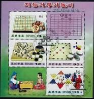 Schach Chess Ajedrez échecs - DPR Korea Nord North 2004 - MiNr Block 574 (4748-4751) - Schach