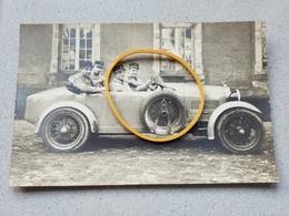 Photo Carte Voiture Automobile Militaire Photographe Epinal - Ohne Zuordnung
