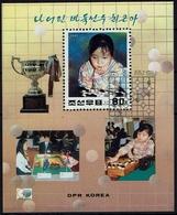 GO - DPR Korea Nord North 1997 - MiNr Block 361 (3912) - Schach