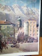 AUSTRIA INNSBRUCK HANDEL ILLUSTRATA  MAZZETTI V1953  HJ3933 - Innsbruck