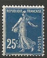 TYPE SEMEUSE  N° 140a Foncé NEUF** SANS CHARNIERE / MNH - 1906-38 Sower - Cameo