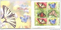 2003  Moldova,Red Book, Butterflies, Booklet, Mint/** - Moldavia