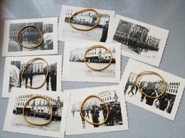 Photo Originale Namur 8 Photos Defilé Ecole Militaire  Militaria  Place - Ohne Zuordnung