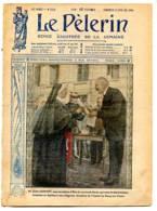 1918 LE PELERIN N° 2134 17 Février Guerre 14 18 , Justin Godart Dassy Sur Yonne , Nice Inauguration Pl Guynemer , Sénat - Livres, BD, Revues