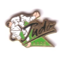 C56 Pin's JUDO AADB Association Animation Dame Blanche Garges Val-d'Oise Achat Immédiat - Judo