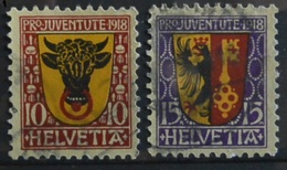 Svizzera Pro Juventute S.CPL.2V.Stema (28074 - Pro Juventute