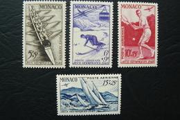 Monaco - Yvert N° PA 32/35 Neufs ** (MNH) - Jeux Olympiques De Londres 1948 - Airmail