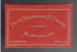 12 PHOTOS PETIT SEMINAIRE SAINT FIRMIN RUE DE NAZARETH A MONTPELLIER VERS 1890 DEVENU CASERNE DE LAUWE EN 1907 - Luoghi
