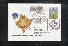 Kosovo 2001 KFOR Feldpost Prizren    2 Jahre Deutsche Soldaten Im Kosovo - Kosovo