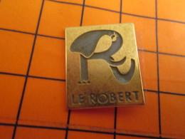 0120 Pin's Pins / Beau Et Rare  / THEME ANIMAUX / ELEPHANT STYLISé DICTIONNAIRE LE ROBERT ... Par Paire C'est Mieux L!!! - Animaux