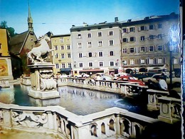 AUSTRIA  SALZBURG  FONTANA  PFERDESCHWEMME N1965  HJ3939 - Salzburg Stadt
