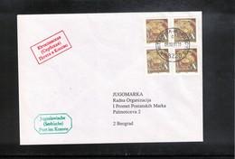 Kosovo 2001 Jugoslawische (Serbische) Post Im Kosovo - Kosovo