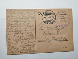 Deutsche Postkarte 1915 - Allemagne