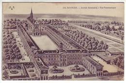 18 Bourges - Ancien Séminaire - Vue Panoramique - Ed: Maquaire 375 - Bourges