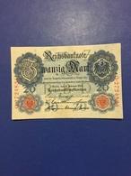GERMANY  BANKNOTE 20 MARK 1914  UNC - [ 2] 1871-1918 : Imperio Alemán
