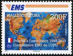 WALLIS AND FUTUNA 2019 Joint Issue 20th Anniversary Of UPU EMS Services MNH - Post