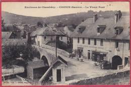 CPA 73 COGNIN Le Vieux Pont Environs De CHAMBERY Restaurant Aux Vieux Capucins  ARMAND - France