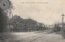 52- Carte Postale Ancienne De SAINT DIZIER    Intérieur De La Gare - Saint Dizier