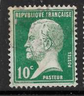 Maury 170 - 10 C Vert - O - 1922-26 Pasteur