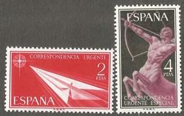 Spain. 1956 Express Stamps. MNH - 1931-Oggi: 2. Rep. - ... Juan Carlos I