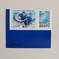 ALLEZ LES PETITS 2007 ADHESIF LOGO PRIVE TB COTE 15 EUROS SUR YVERT 2020 N° 4032B - France