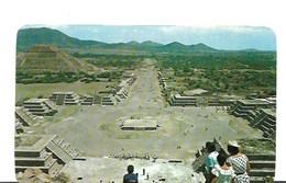 CP-Mexique- San Juan Teotihuacan - Plaza De La Luna (écrite) - Mexiko