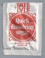 Suikerzakje.- TATE+LYLE. QUICK DISSOLVING SUGAR. Suiker Sucre Zucchero Zucker Sugar - Suiker