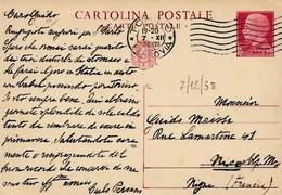 Intero C81 ; Torino 7-12-1938 Per L'estero - 1900-44 Victor Emmanuel III