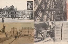 4 CPA:MAISON COINTREAU D'ANGERS (49) FABRIQUE DES CAISSES,EXPOSITION BESSONNEAU,PONT DU CENTRE,PLACE DU RALLIEMENT - Angers
