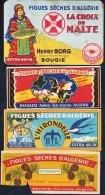 """Trois Marque-Pages + Un Carton Publicitaire - """" Figues Sèches D'Algérie """" . - Marque-Pages"""