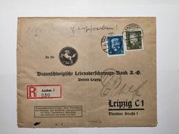 Deutsches Reich Briefumschlag 1932 Leipzig - Allemagne