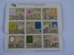 ITALIA - 1985 - ESPOSIZIONE MONDIALE DI FILATELIA - ROMA 25-X 3-XI 1985 TBE - 1981-90: Neufs