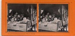 Paris Exposition De 1900 Boutique Chinoise - Photos Stéréoscopiques