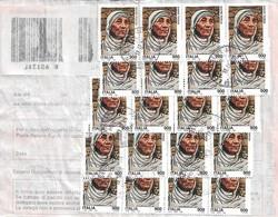 Blocco Madre Teresa Su Bollettino Pacchi Del 13-12-2000 - Mutter Teresa